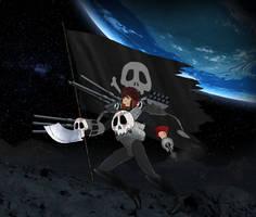 Cosmo Cuirassier Captain Harlock by Mizukami999