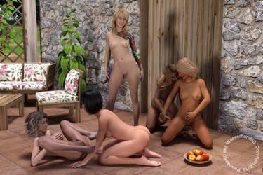 Lesbian Party by Wasserhund60