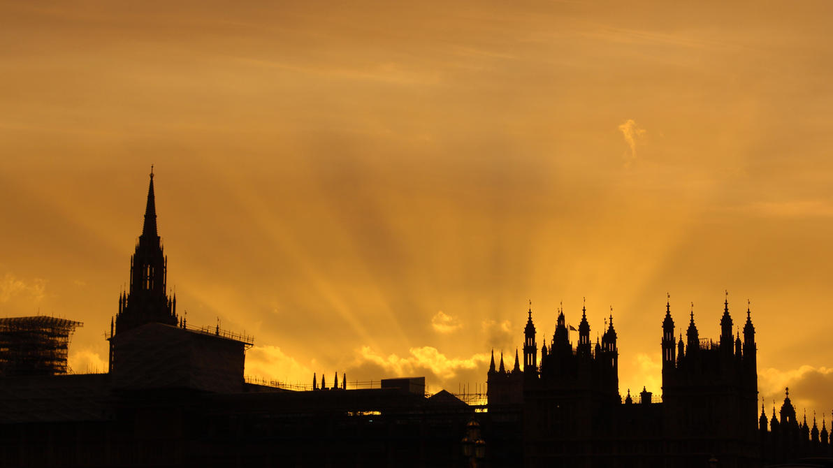 sunrays_over_british_parliament_by_bargm
