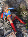 Supergirl Knocked Down