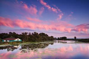 Holland River Sunset by JamesHackland