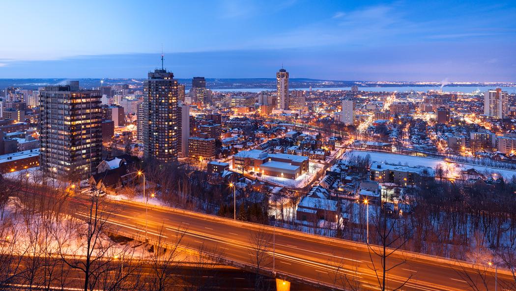 Hamilton Winter by JamesHackland