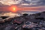 Gneiss Sunset