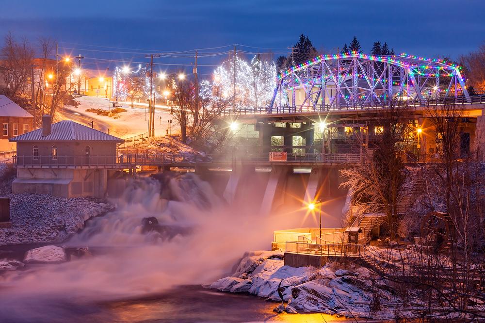 Bracebridge Falls at Dusk by JamesHackland