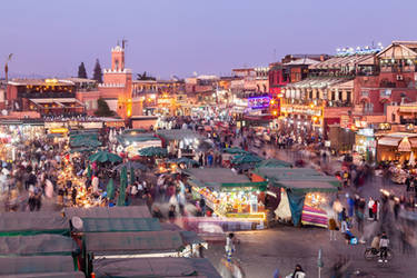 Evening in Marrakesh by JamesHackland