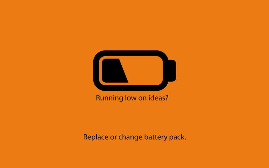 Running Low on Ideas? by murtazaimran