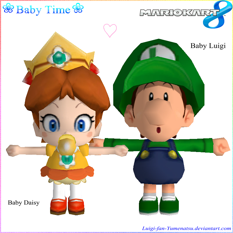 Baby Daisy And Baby Luigi By Luigifan Natsu On Deviantart