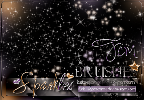 #Sparkles{BRUSHES} by Fucking-CatchMe