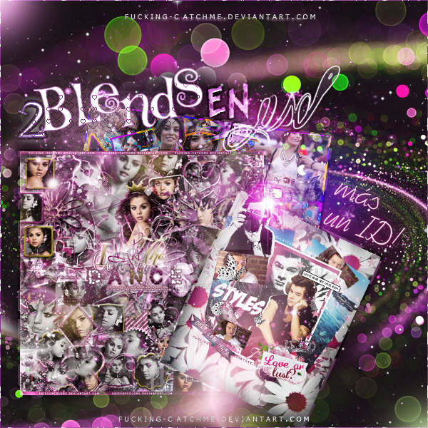#Blends en PSD + ID{3} by Fucking-CatchMe