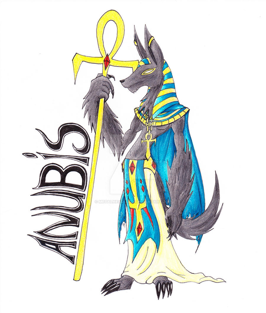 how to draw easy egyptian gods