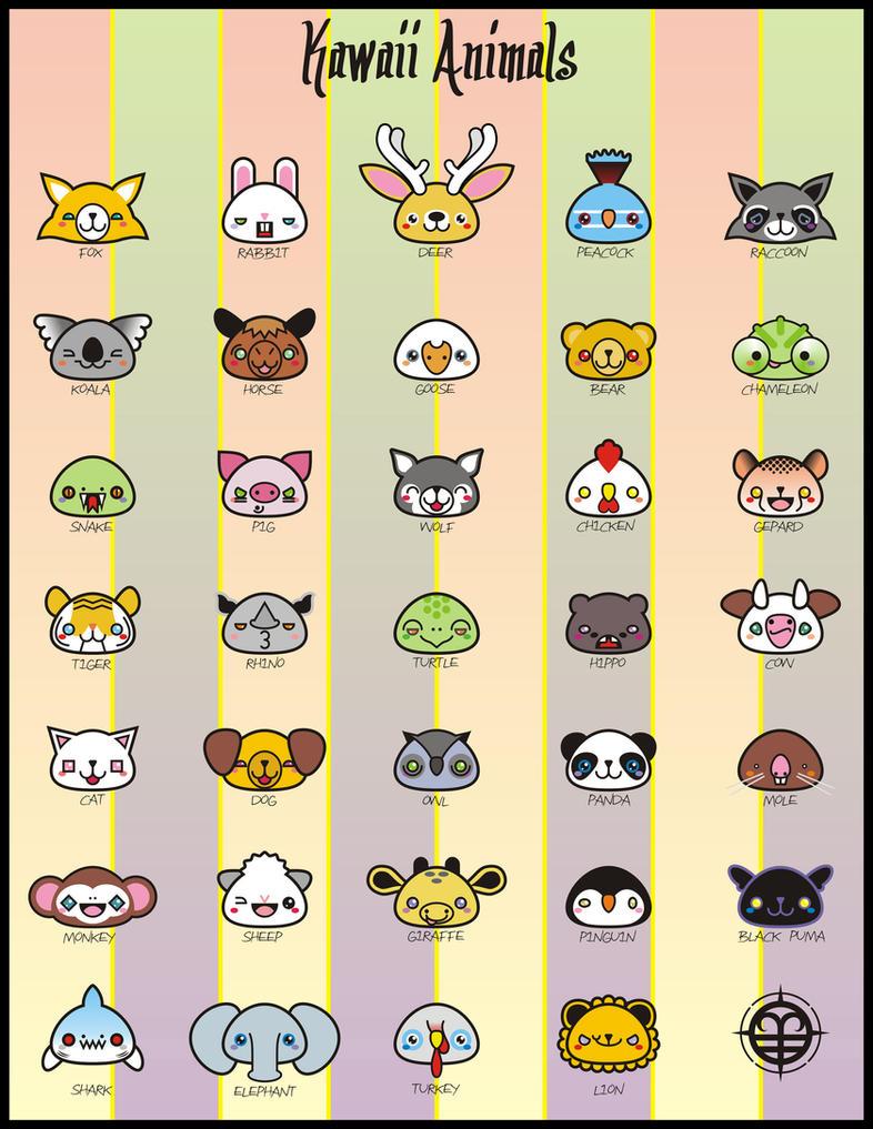 Kawaii Animals By VampirGoth On DeviantArt