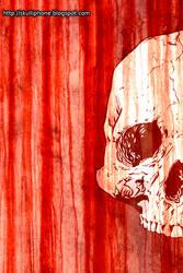 Bloody Skull by VampirGoth