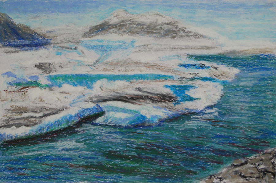 Iceland - sketch 1 by davepuls