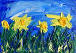 Impasto Daffodils
