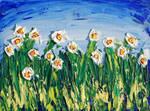 Titanium White Daffodils