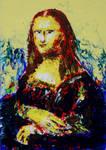 Mona - Knife painting