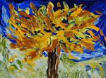 The burning tree by davepuls