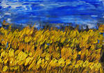 Northumbrian wheatfield