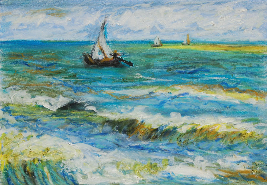 Rough Seas by davepuls