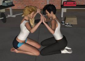 Gym Wars by girlsversusgirls