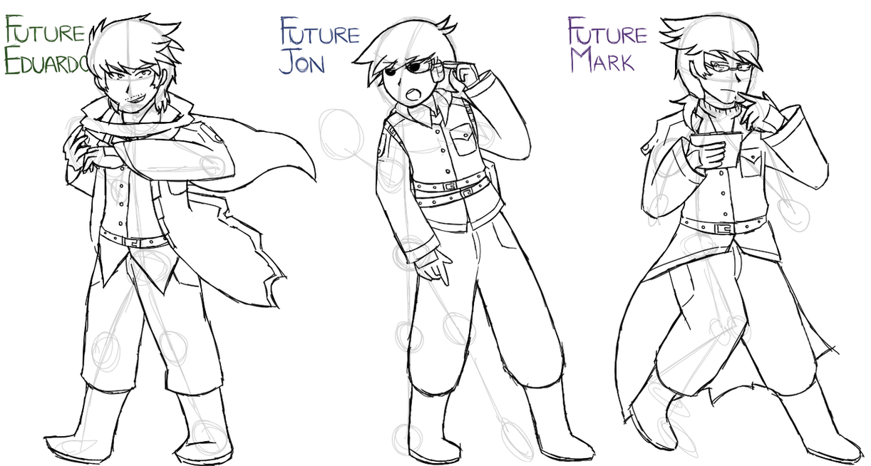 [C.A.] Eduardo And Co. Future Selves' Design By Ew-a On