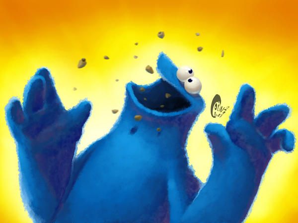 Cookie monster wallpaper by Penril on DeviantArt