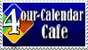 4our-Calendar Cafe stamp by Penril