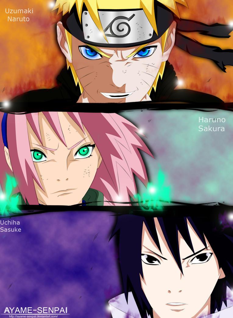 Naruto 632- Team 7 by Ayame-Senpai on DeviantArt