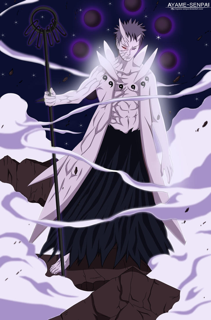 Naruto 640- Obito final form by Ayame-Senpai on DeviantArt