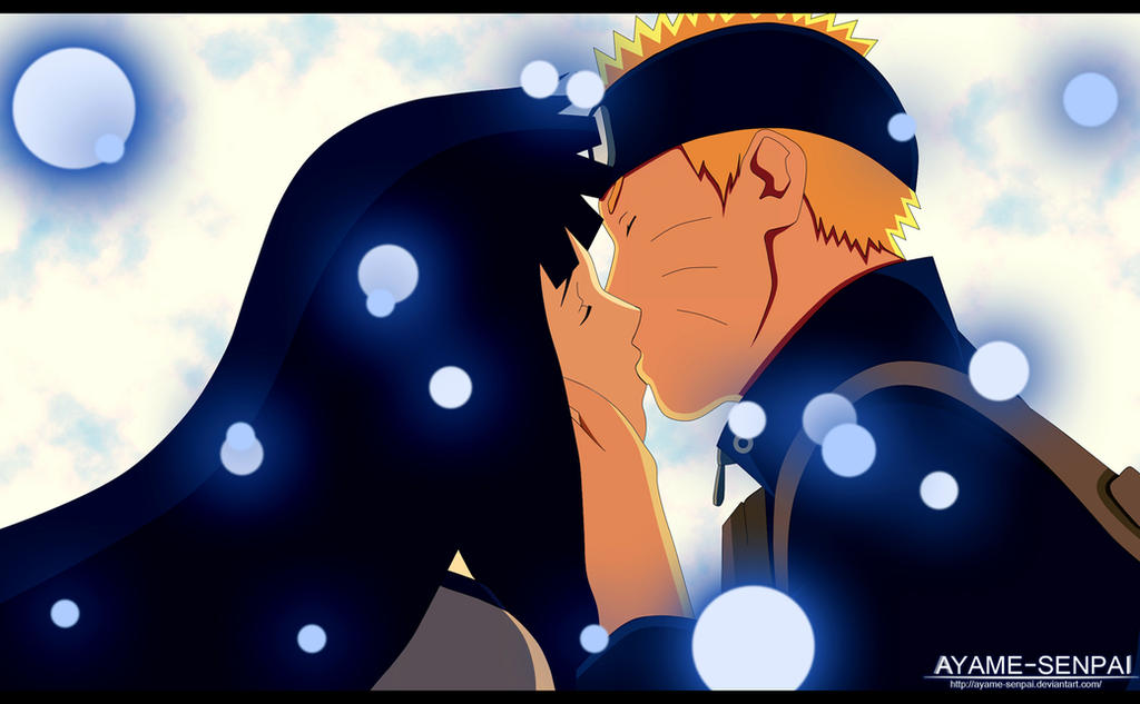 Naruto and Hinata kiss The Last by Ayame-Senpai on DeviantArt