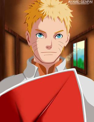 Nanadaime Hokage- Uzumaki Naruto manga 700 by Ayame-Senpai