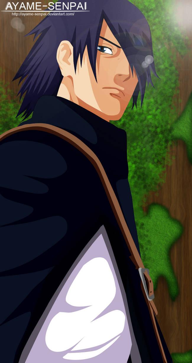 Uchiha Sasuke manga 700 by Ayame-Senpai