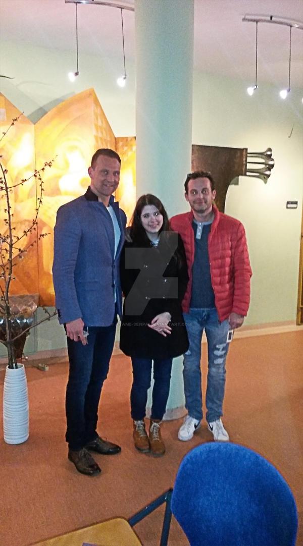 Thomas Mastalir and Marian Miezga with me by Ayame-Senpai