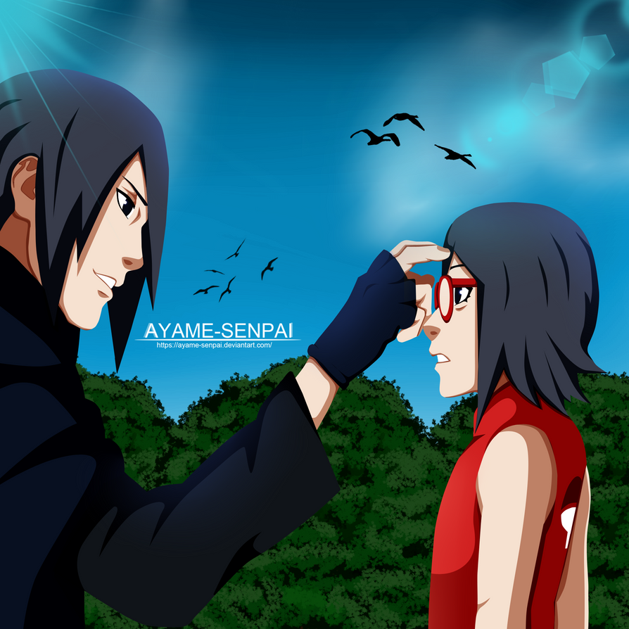 Naruto Gaiden: Sasuke And Sarada By Ayame-Senpai On