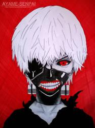 Tokyo Ghoul - Kaneki Ken by Ayame-Senpai