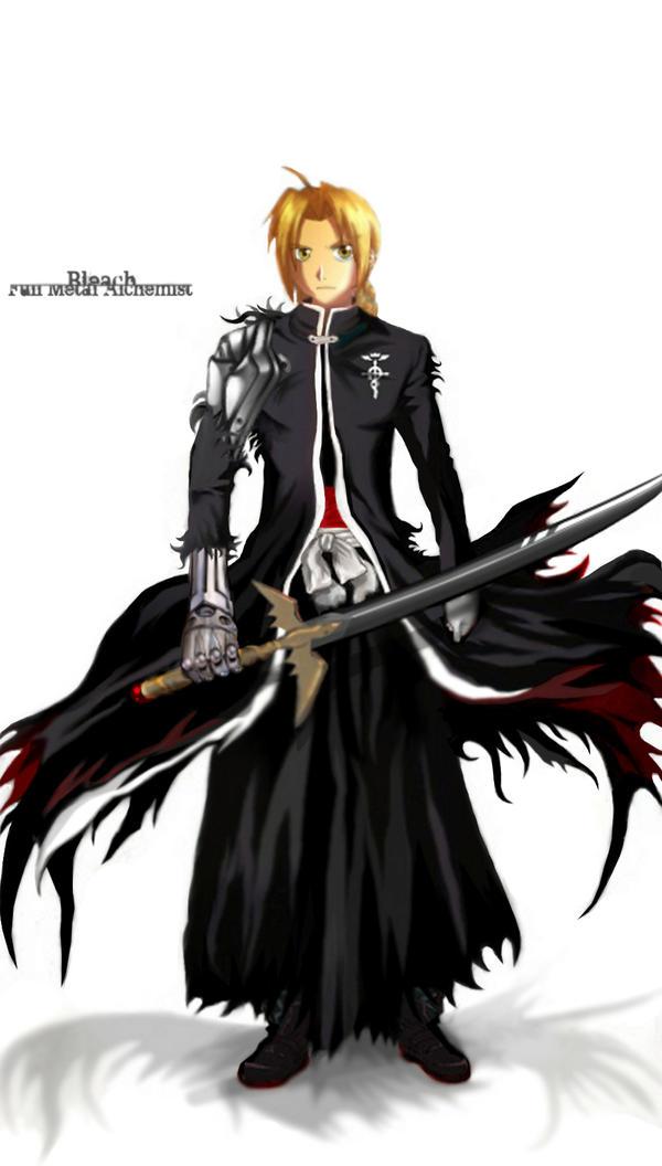 Edward Elric Soul Reaper by KarasumeSorakami