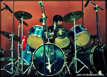 the drummer by Javi-23