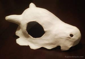 Cubone skull helmet
