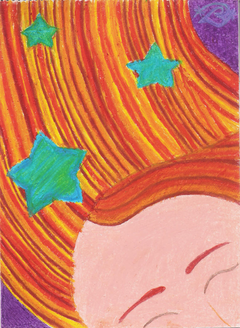 Stars In Her Hair by tangerine-genie