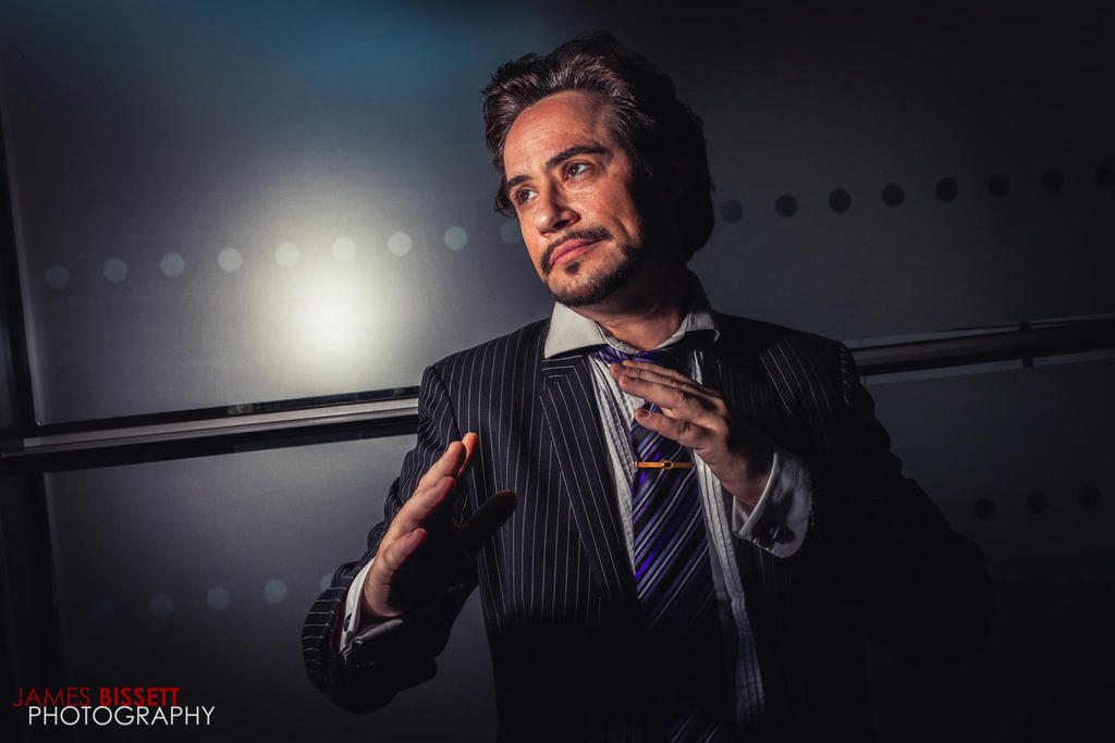 Tony Stark MCMM 2015 JB 2 by PC-IchabodCrane