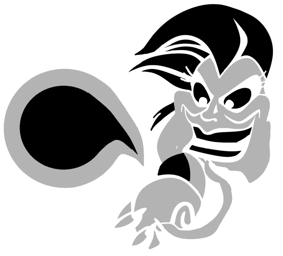 PF) Ursula Pumpkin Stencil by leopardtoes on DeviantArt