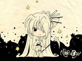Dark Kali Chibi Cute by Kalisama