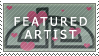 Featured Artists Stamp by Kalisama