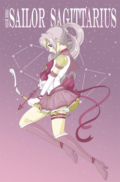 Sailor Zodiac Sagittarius by Kalisama
