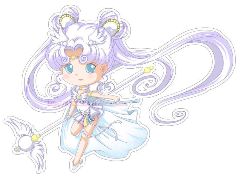 Chibi sailor Cosmos by Kalisama
