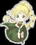 Chibi Archer Gwen by Kalisama