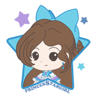 PrincessStarGirl Stamp by Kalisama