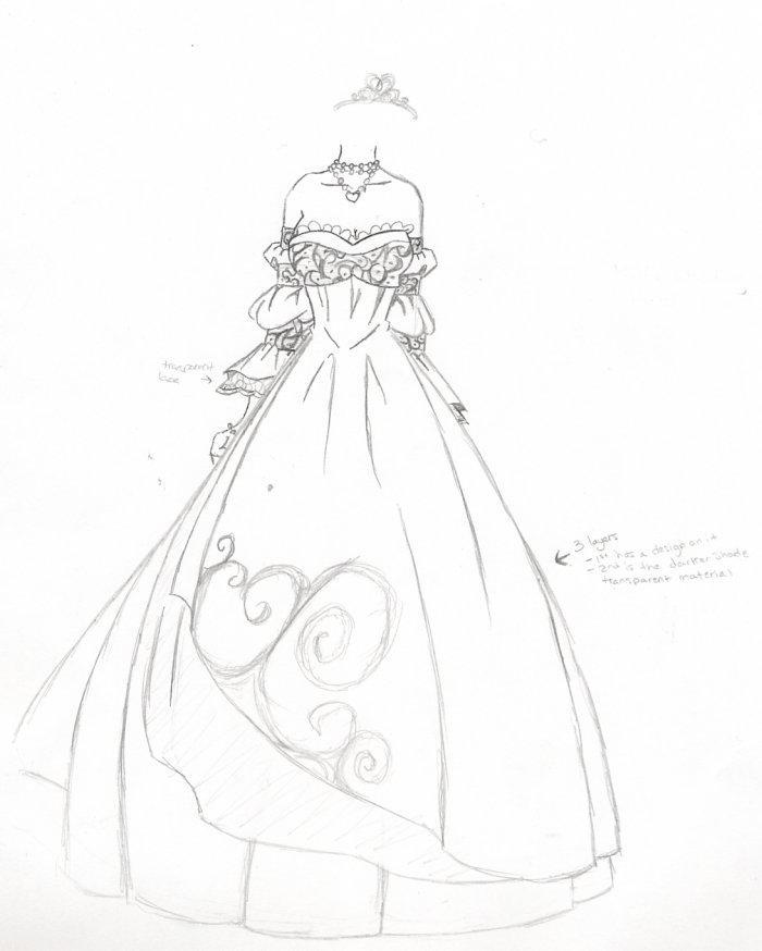 Kalis wedding dress by kalisama on deviantart for Anime wedding dress up games