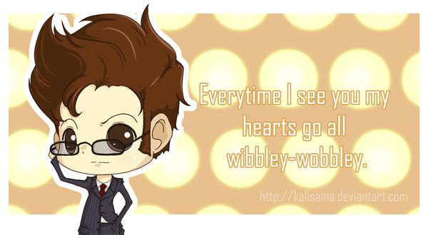 Doctor Who: Wibbley-Wobbley Valentine by Kalisama