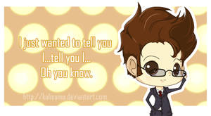 Doctor Who: I Just Wanted To Tell You Valentine